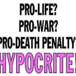Being Pro-War/Death Penalty Doesn't Mean You're Not Pro-Life: My Answer to a Liberal's Accusation