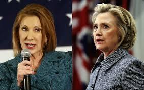 Carly v Hillary